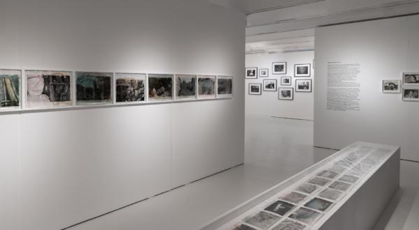 "(Wall) The series ""Private Scenes"" 1990-91(Vitrine) The series ""Hibi"" 1990-92"